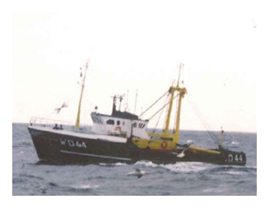 WD44 in Irish Sea